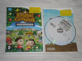 Nintendo Wii: Animal Crossing Let's Go to the City