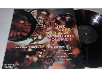 Gerry Mulligan - Songbook Vol.1 ,  U.S. World Pacific Jazz mono lp -58