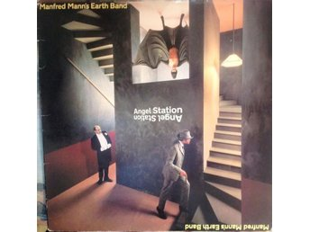 Manfred Mann's Earth Band LP Angel Station