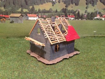 Hus under byggnad - H0 - Linköping - Hus under byggnad - H0 - Linköping