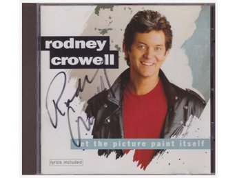 RODNEY CROWELL     SIGNERAD   CD