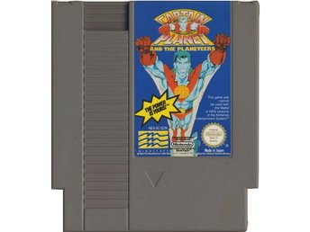 Captain Planet and the Planeteers - NES - Kassett