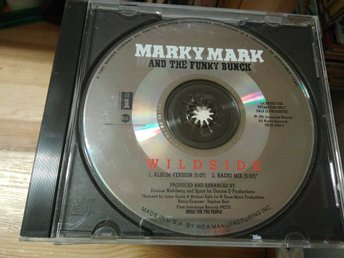 Marky Mark & The Funky Bunch – Wildside, Promo, CD