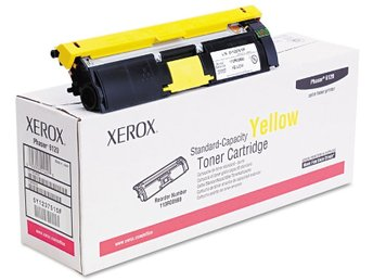 Yellow Toner, Xerox Phaser 6120 / 6115 Original Högkapacitet (113R00694)