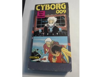 Cyborg 009 - avsnitt 45+46 - VHS - NM International nr. 3036