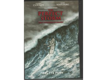 DVD - THE PERFECT STORM - MED GEORGE CLOONEY & MARK WAHLBERG
