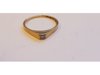 Ring 18k kattfot 1,3g 16mm 10766-4