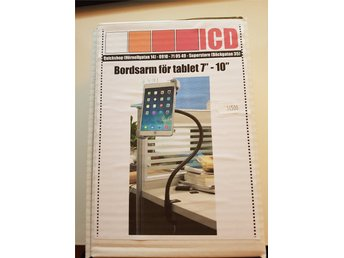 Bordsarm för tablet 7-10 tum