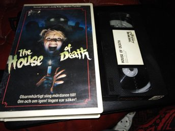 House of Death  aka Death Scream (1981) Slasher Svensk Rental Hyr Mdc