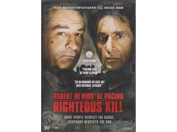 DVD. ROBERT DE NIRO/AL PACINO. RIGHTEOUS.