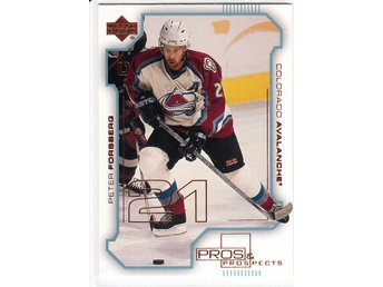 2000-01 Upper Deck Pros and Prospects #24 Peter Forsberg