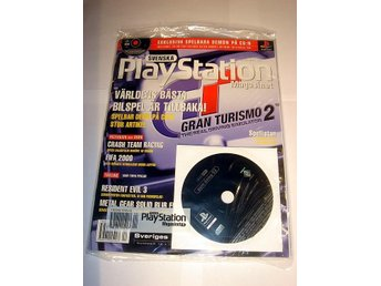 PLAYSTATION 24  NY CD 12/1999 GRAN TURISMO 2 I ORIGINALPLAST
