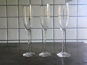 3st OPTICA Champagneglas Orrefors - Malmö - 3st OPTICA Champagneglas Orrefors - Malmö