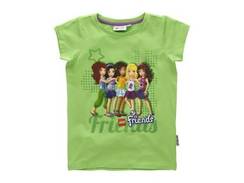 LEGO FRIENDS, T-SHIRT, GRÖN (104)
