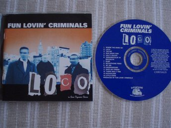 Fun Lovin`Criminals (Loco) Chrysalis ‎– 531 471-2, Made In Europe 2001