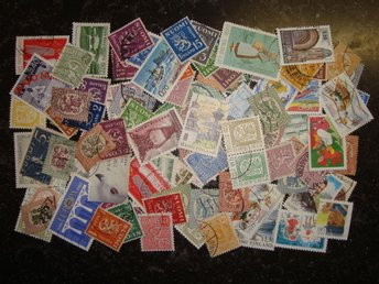 Lot Suomi used / approx. 100 fine stamps!