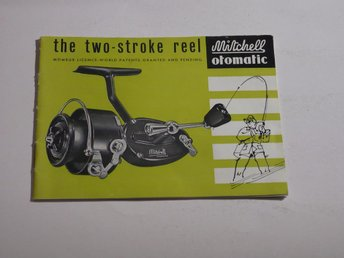 MITCHELL OTOMATIC THE TWO-STROKE REEL - Bjuv - MITCHELL OTOMATIC THE TWO-STROKE REEL - Bjuv