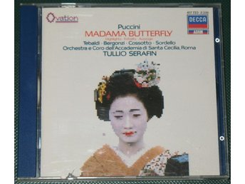 Puccini – Madama Butterfly -- Highlights -- DECCA -- 1991 -- CD