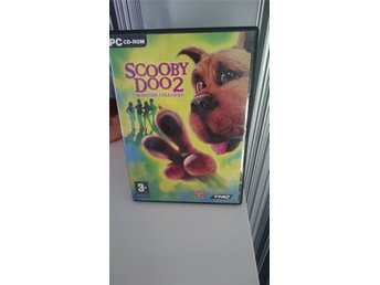 Scooby dom 2 monsters Unleashed. PC cd-rom spel.