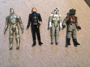 Star wars - Figurer 4 st
