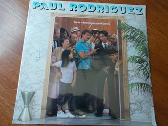 PAUL RODRIGUEZ - You're in America now, speak spanish, LP Columbia USA '86
