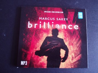 BRILLIANCE - MARCUS SAKEY ,Mp3,Uppläsare Reine Brynolfsson