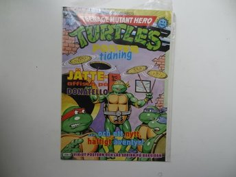 Turtles Poster tidning  3 1991