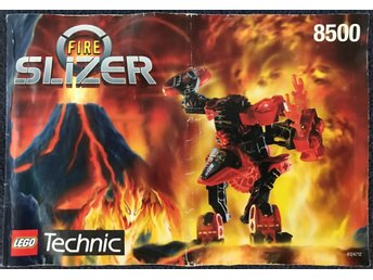 LEGO Technic Slizer 8500 (Fire) - Manual