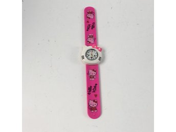 Hello Kitty, Armbandsur, Rosa/Vit
