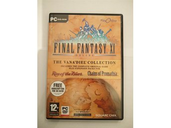 Final Fantasy XI (11) Online The Vana'Diel Collection PC