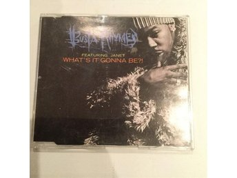 CD-singel Busta Rhymes - What's it gonna be