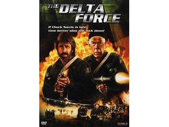 The Delta Force DVD 1986 CHUCK NORRIS
