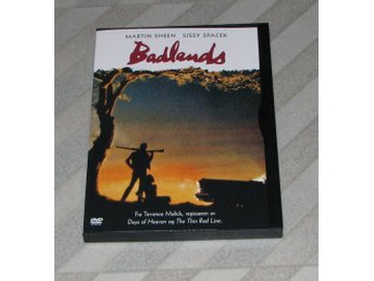 Badlands - Det Grymma Landet - Svensk Text (DVD) - Martin Sheen Terrence Malick