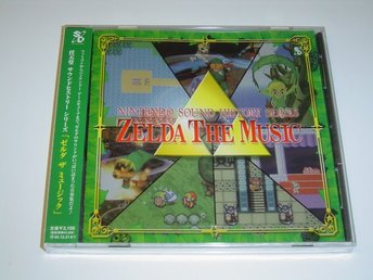 Zelda The Music Soundtrack Musik *NYTT*