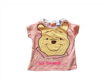 Disney Nalle Puh Rosa So Sweet T-Shirt stl 74 6mån