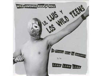 Lil' Luis y Los Wild Teens/The Rizlas - SPLIT EP - 7'' NY - FRI FRAKT