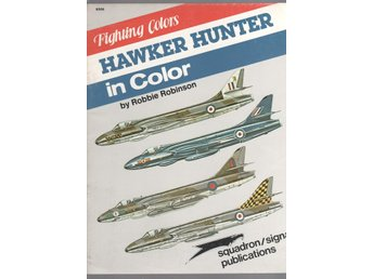 Hawker Hunter in Color - Fighting Colors series