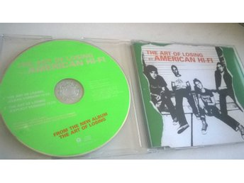 American Hi-Fi ‎– The Art Of Losing, CD, Single, Promo