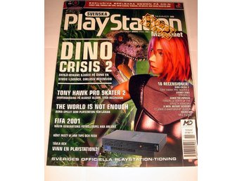 PLAYSTATION 35 NY CD OKT2000  DINO CRISIS 2  I ORIGINALPLAST