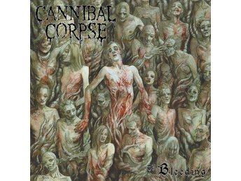 Cannibal Corpse -The bleeding LP with poster Death metal