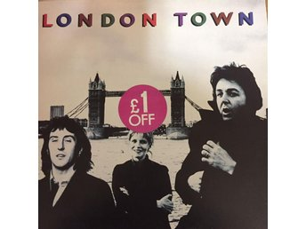 "Paul McCartney & Wings ""London Town"""