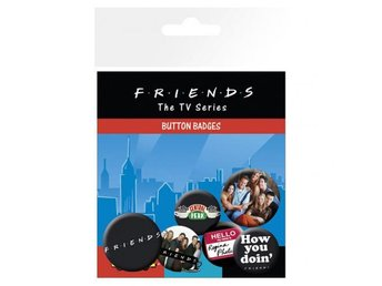 Friends Knappar 6-pack