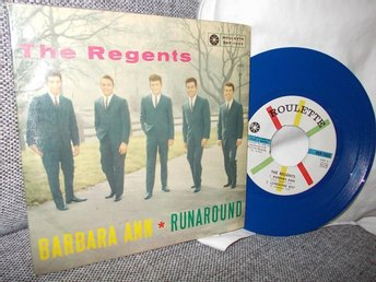 EP  The Regents  --  Barbara Ann