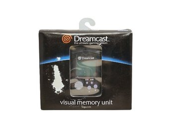 Nytt VMU Visual Memory Unit (Svart)