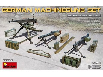 Miniart 1/35 German Machine Gun Set