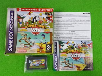 Looney Tunes Double Pack KOMPLETT Nintendo GBA