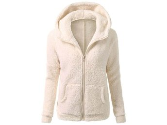 Womens Ladies Parka Hoodie Fleece Sweatshirt Hooded Hoodys Zip Jacket Coat
