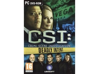 PC - CSI: Deadly Intent (Beg)