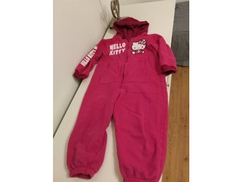 jumpsuit hello kitty 110/116 flicka tjej  mysdräkt