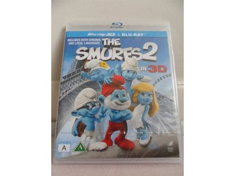 Smurfs 2 in 3D (Blue-ray 3D + Blu-Ray) oöppnad